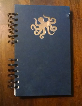Dark Day in the Deep Sea, Recycled Book Journal