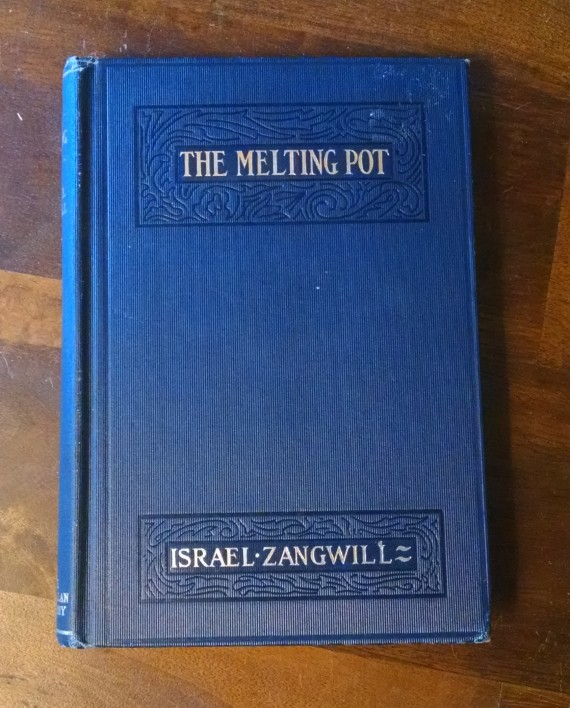 the melting pot by israel zangwill 1913 edition paper butterfly forge