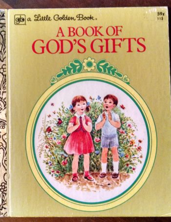 A Book of God's Gifts Recycled Book Journal