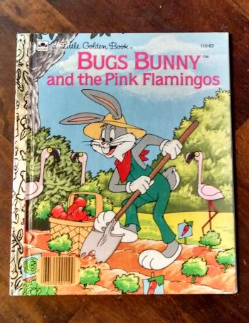 Bugs Bunny and the Pink Flamingos Little Golden Book Journal