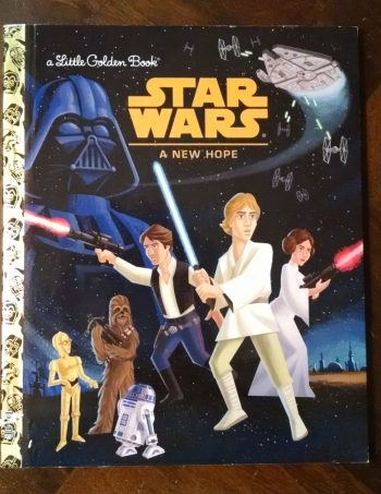 Star Wars A New Hope Little Golden Journal Book