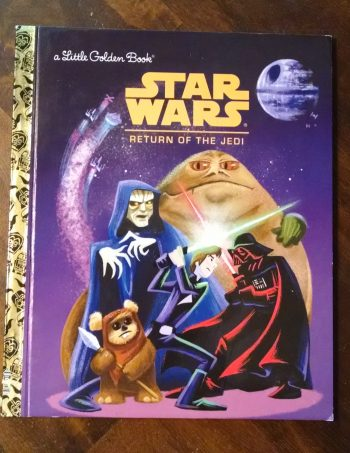 Star Wars Return of the Jedi Little Golden Book Journal