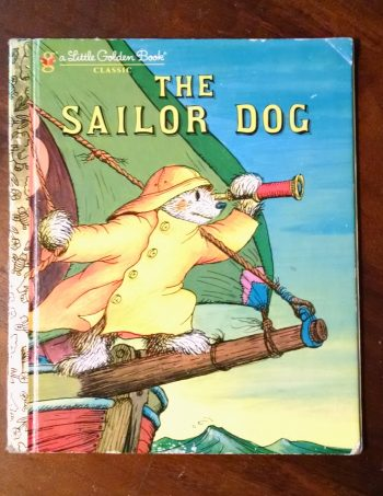 The Sailor Dog Little Golden Book Journal