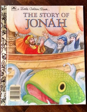 The Story of Jonah, Little Golden Book Journal