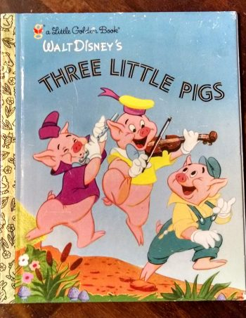 Three Little Pigs Little Golden Book Journal