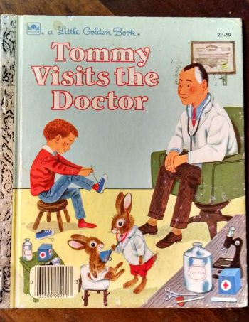 Tommy Visits the Doctor Little Golden Book Journal