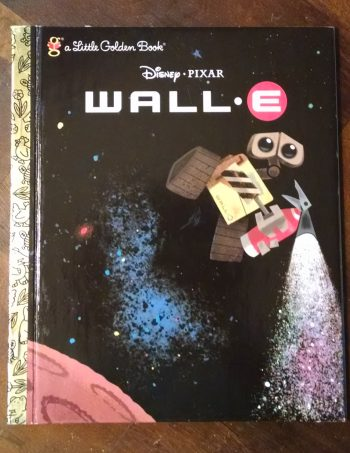 Wall E Little Golden Book Journal