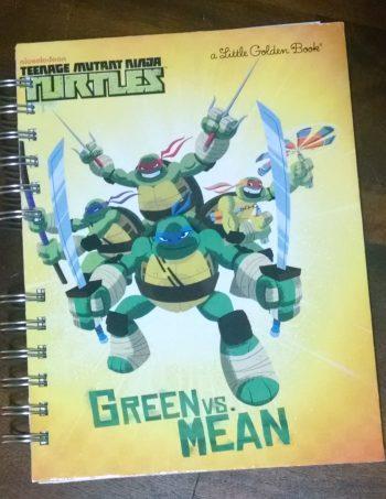 Green Vs Mean Teenage Mutant Ninja Turtles Book Journal