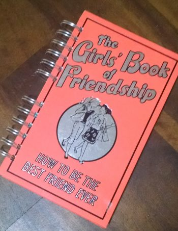 The Girls' Book of Friendship Journal