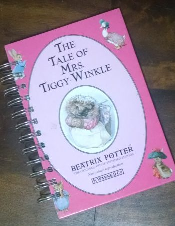 The Tale of Mrs Tiggy Winkle Book Journal