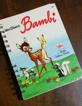 Bambi Little Golden Book Journal