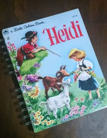 Heidi Recycled Book Journal
