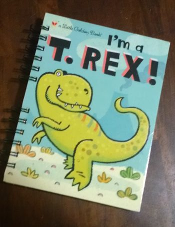 I'm a T Rex Book Journal