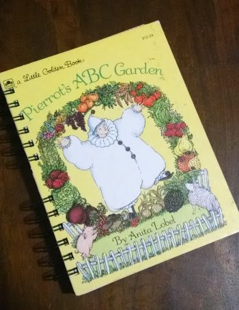 Pierrot's ABC Garden Book Journal