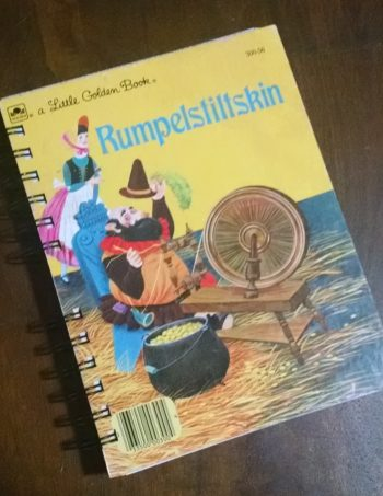 Rumpelskiltskin Recycled Book Journal