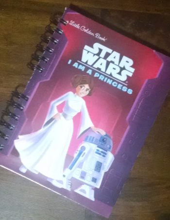 Star Wars, I am a Princess Upcycled Book Journal