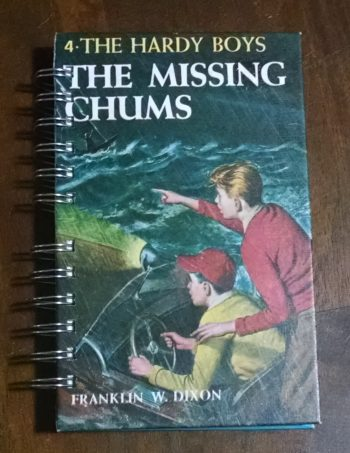 The Missing Chums Recycled Book Journal