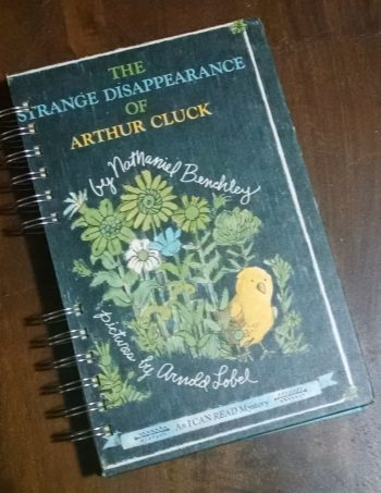 The Strange Disappearance of Arthur Cluck Book Journal