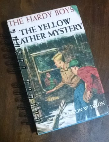The Yellow Feather Mystery Book Journal