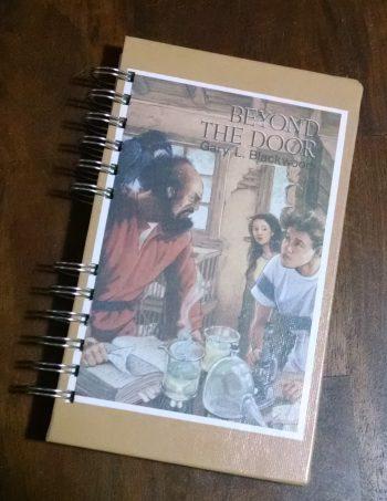 Beyond the Door Recycled Book Journal