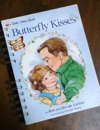 Butterfly Kisses Book Journal