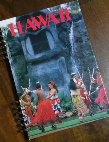 Hawaii Recycled Book Journal