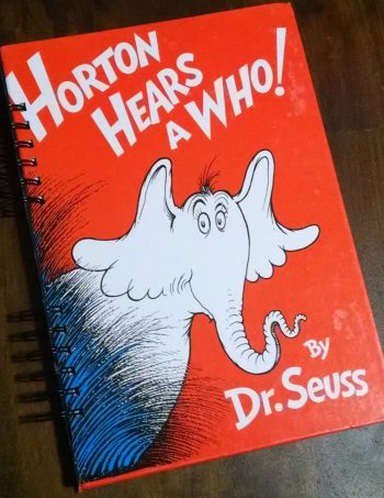 Horton Hears a Who Recycled Book Journal