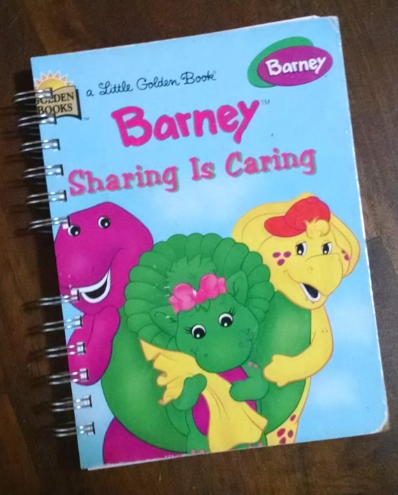 Barney Sharing is Caring Book Journal