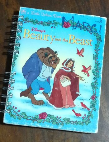 Beauty and the Beast Book Journal