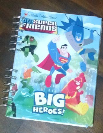 DC Superfriends Book Journal