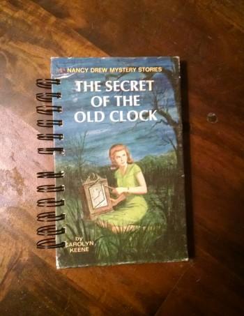 The Secret of the Old Clock Nancy Drew Blank Book