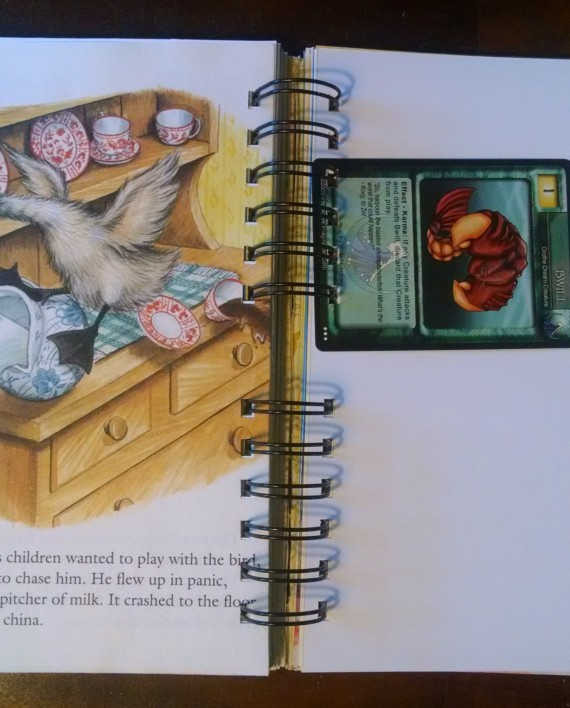 The Ugly Duckling, Recycled Little Golden Book Journal, Interior