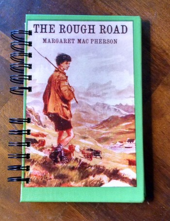 This Rough Road, Vintage Book Journal