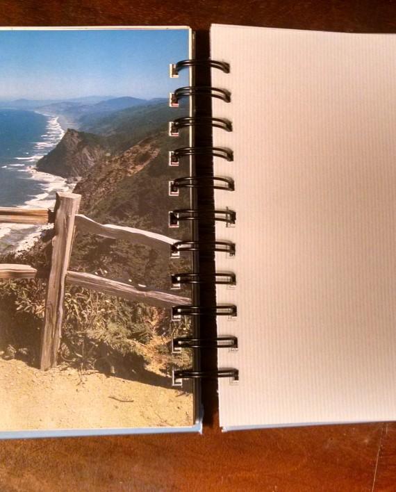 Zen and Art of Travel Book Journal Interior