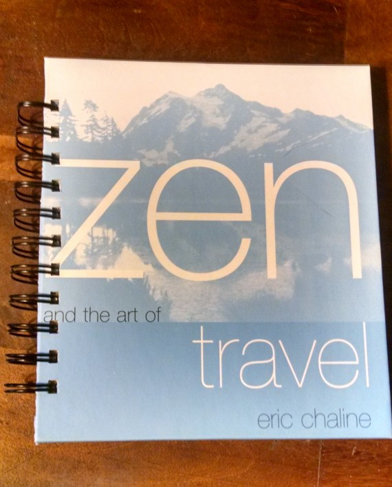 Zen and the Art of Travel Recycled Book Journal