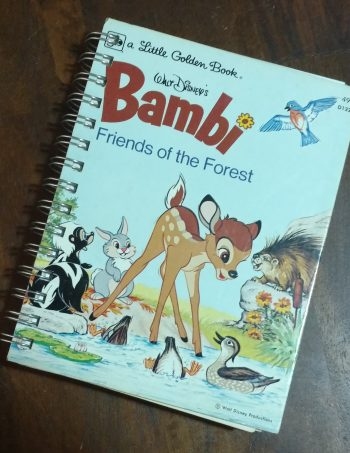 Bambi Friends of the Forest Book Journal