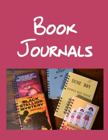 Recycled Book Journals