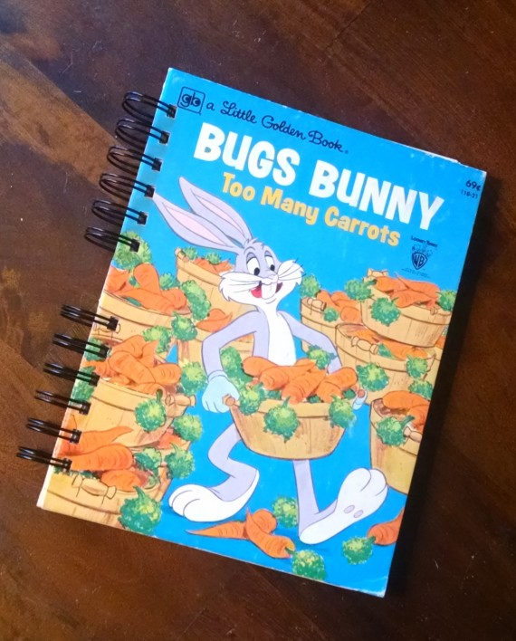 Bugs Bunny Too Many Carrots, Little Golden Book Journal