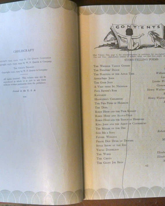 Childcraft 2 Narrative Poems and Creative Verse 1945, Interior 2