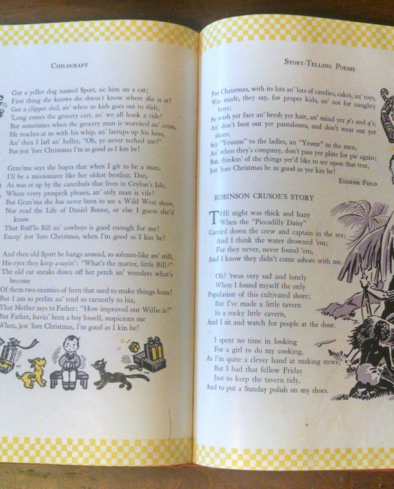 Childcraft 2 Narrative Poems and Creative Verse 1945, Interior