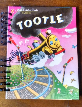 Tootle, Little Golden Book Journal