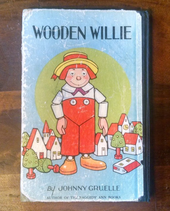Wooden Willie by Johnny Gruelle, Back Cover