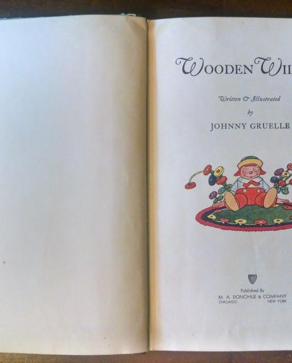 Wooden Willie by Johnny Gruelle, Interior 3