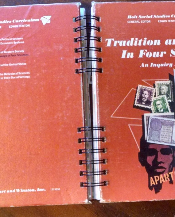 Tradition and Change in Four Societies Textbook Journal, Cover