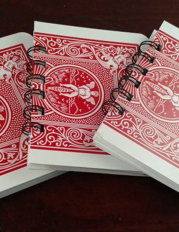 Playing Card Notebooks