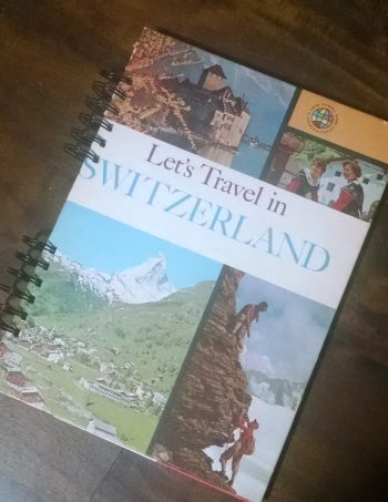 Let's Travel to Switzerland Book Journal