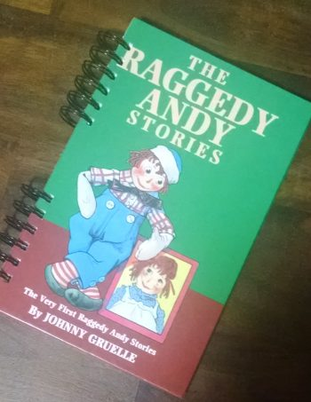 Raggedy Andy Stories Upcycled Book Journal
