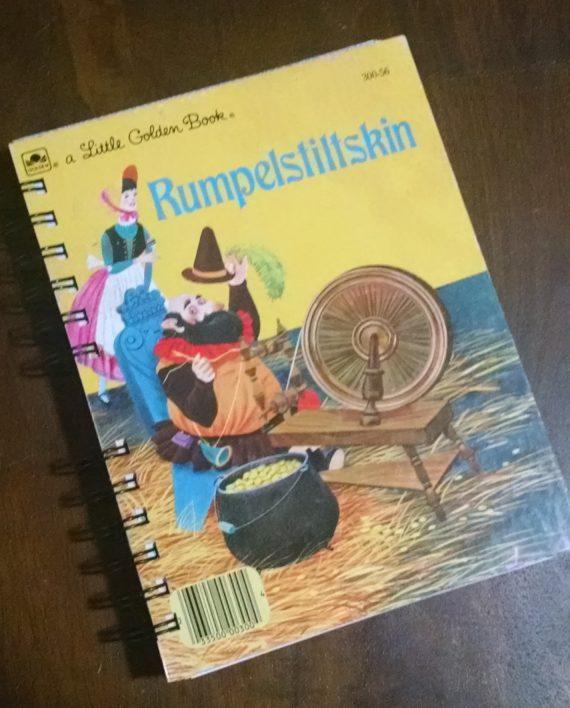 Rumpelskiltskin Recycled Book Journal