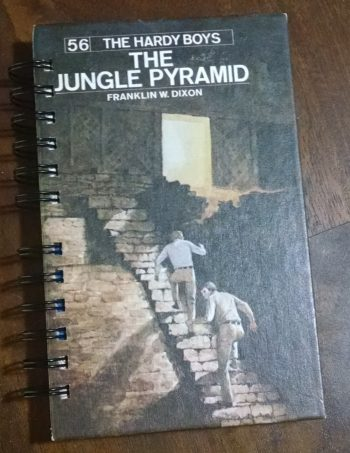 The Jungle Pyramid Recycled Book Journal