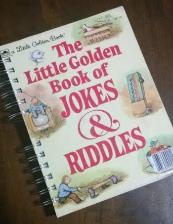 The Little Golden Book of Jokes & Riddles Book Journal